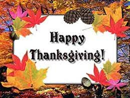 wish you a happy thanksgiving wishes card