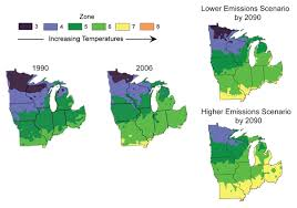 Weather Zones For Gardening - midwest global climate change impacts in the united states 2009