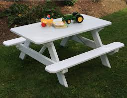 little kids picnic table white little tikes american plastic toys picnic table with folding