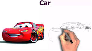 disney cars lightning mcqueen cartoon image wallpaper drawing