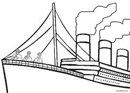 printable titanic coloring pages kids cool2bkids