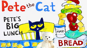 pete the cat pete s big lunch by dean children s book