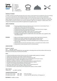 cook resume exles excellent cook resume exles also chef resume sle