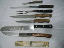 xx kitchen knives vintage flint vanadium knife ebay