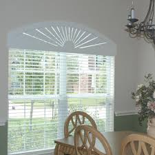 Sheer Roller Blinds For Arched Bella View Trademark Custom Composite Wood Arch Americanblinds Com