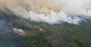 Wildfire Quesnel by Weather Change Brings Cariboo Lightning Lake Country Fire Handled