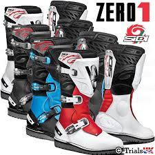 sidi motorcycle boots new sidi zero 1 trials boots offroad trail adventure ebay