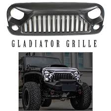jeep wrangler front grill accessories for jeeps jeep wrangler gladiator grille jeep