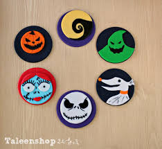nightmare before christmas cupcake toppers nightmare before christmas edible cupcake toppers