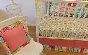 girls shabby chic bedding bedding set floral crib bedding flowers and frills amazing