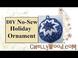 quilted ornament tutorial with free pattern