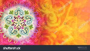 kazakh ornament colorful background stock illustration 358174934