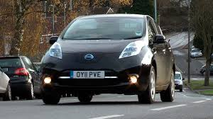 nissan leaf quick charge time nissan leaf review youtube