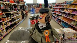 Halloween Decorations For Retail Stores by Walgreens Halloween Decorations Youtube
