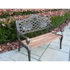 garden decorative bench with angel design hd6031 ab the home depot