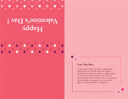 day card s day card quarter fold office templates
