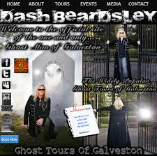 dash beardsley ghost tours of galveston texas