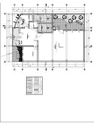 community center community hall multipurpose hall 2d dwg plan
