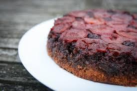 plum upside down cake recipe great british chefs