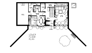 earth contact home plans earth sheltered passive home plan