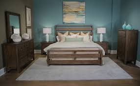 Bedroom Furniture Land Driftwood Collection Queen Bedroom Set 124brset Palmetto Home