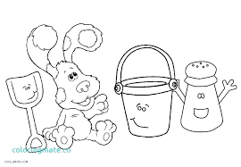 coloring page tiger paw paw print coloring page blue clues coloring pages blues clues