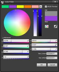 color picker unreal engine