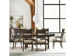 kincaid furniture wildfire seven piece dining set with extendable