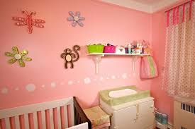 Pink Bedroom Paint Ideas - cute pink baby bedroom ideas with pink walls paint and wallpaper