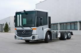 the new mercedes benz econic innovative efficient ergonomic and