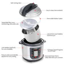 amazon com geekchef 11 in 1 multi functional electric pressure