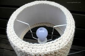 Creative Lamp Shades Craftaholics Anonymous Crochet Lamp Shade Pattern