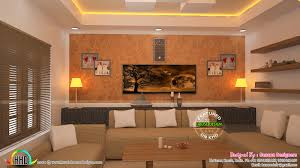 interiors designs of living bedroom kerala home design and