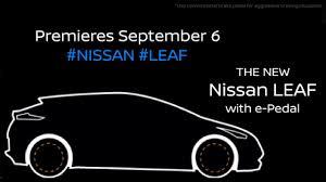 2018 nissan leaf e pedal technology youtube