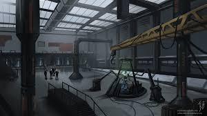 lexcorp warehouse interior by supermanorigins on deviantart