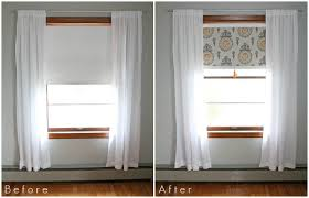 Window Blinds Up Or Down For Privacy Fabric Covered Roller Shades With Handmade Tassel Love Grows Wild