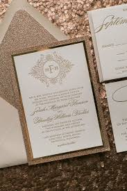 wedding invitations glitter abigail suite styled fancy glitter package just invite me