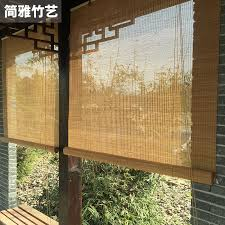 balcony curtain usd 21 54 custom bamboo blinds bamboo window blinds blackout