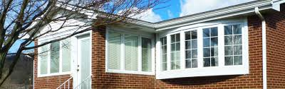 vinyl custom bay and bow windows thermo twin thermo twin custom bay window