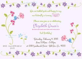 butterfly birthday invitation butterflies butterfly