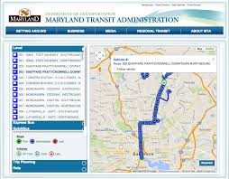Real Time Maps Anatomy Of A Civic Hack Freeing Baltimore U0027s Real Time Bus Data