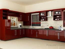 red modern kitchen indian modern kitchen cupboards kitchen design kerala style