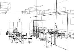 interior designer sketch