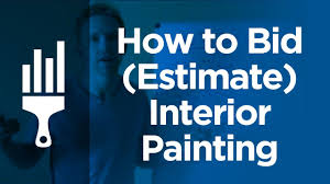 how to bid estimate interior painting