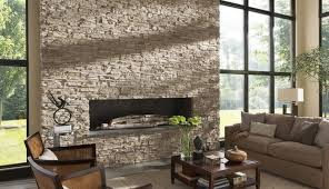 Stacked Stone Outdoor Fireplace - decorating beautify your fireplace with stacked stone fireplace