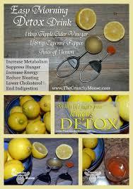 Does Lemon Water Make You Go To The Bathroom Morning Lemon Detox With Lemons Apple Cider Vinegar Cayenne