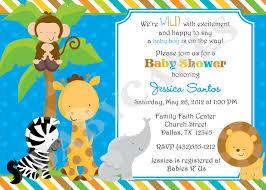 animal baby shower invitations reduxsquad com