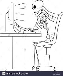 cartoon jeep front skeleton sitting chair stock photos u0026 skeleton sitting chair stock