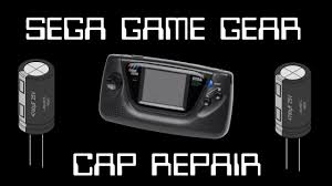 game gear backlight mod game gear capacitor backlight repair and led mod mcretro net