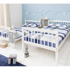 Brighton Single Bunk Bed In White Noa  Nani - White bunk beds uk